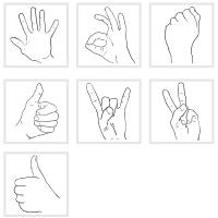 Alle sieben Grafiken