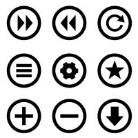 Eins der erwähnten Icon Sets