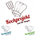 Ein Logo zum Thema Kochen