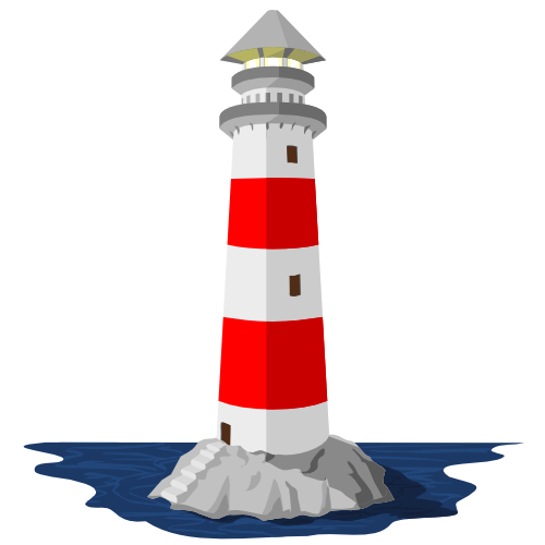 Leuchtturm Grafik | dorgla