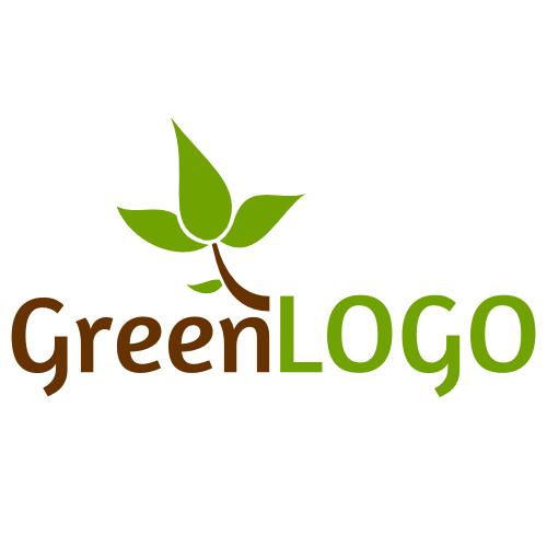 Ein Logo zum Themengebiet Natur/Bio/Umwelt