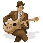 Blues Gitarrist